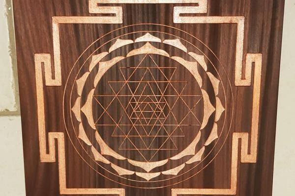 Sri yantra cuivré 1